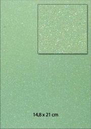 Glitterpapier A 5 H E L L G R Ü N 653000/0040