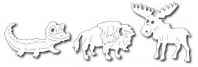 Frantic Stampers Stanzform Noah' s Nord-Amerikanische Tiere /Noah' s North-American Animals FRA-DIE