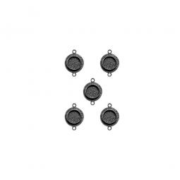 Spellbinders Schmuckanhänger SILBER Circles One MB2-501S ( 5 Stü