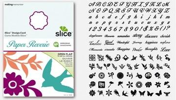 SLICE Design Karte Paper Reverie 35681 ( MS + )
