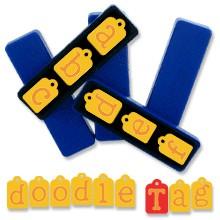 Doodle Tag Kleinbuchstaben 38-1069