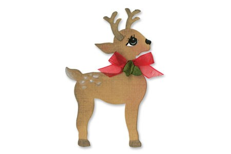 Sizzix Stanzform Originals MEDIUM Rentier # 2 / reindeer # 2 656730