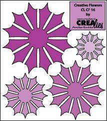 Crealies Creative Flowers # 16 ( lila) CLCF-16