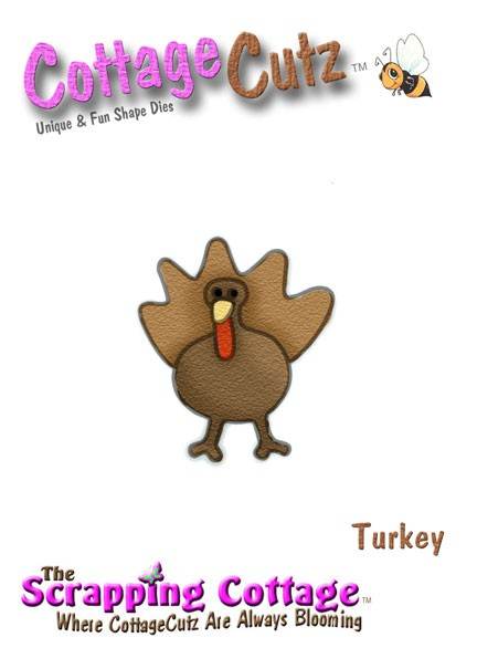 CottageCutz Truthahn / turkey SC CC-Mini-014