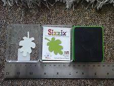 Sizzix Stanzform Original SMALL Blatt # 1 / leaf # 1 38-0218