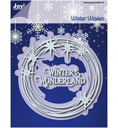 Joycrafts Stanzform Äste-Kreis mit Sternen / Winter Wishes 6002/0910