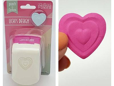 Uchi's Design Motivlocher Herz / Heartfelt EP03