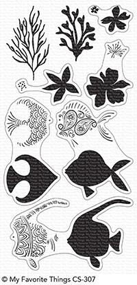 My Favorite Things Clear Stempel Fische / Adorned Ocean Friends CS-307