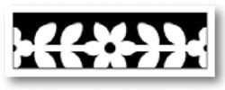Martha Stewart Border - Stanzer Poinsettia Vine 42-40072