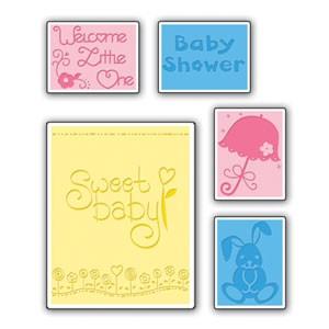 Sizzix Prägefolderset Baby Set # 2 655846