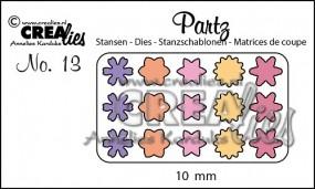 Crealies Partz Nr.13 Blumen CLPartz13