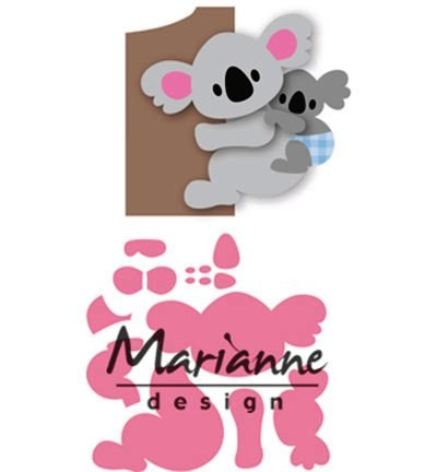 Marianne D Collectable Stanzform Koala & Baby COL1448