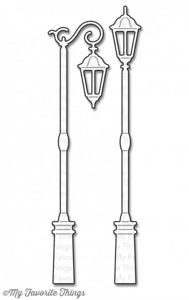Dienamics Stanzform Straßenlaternen / Streetlights MFT-770