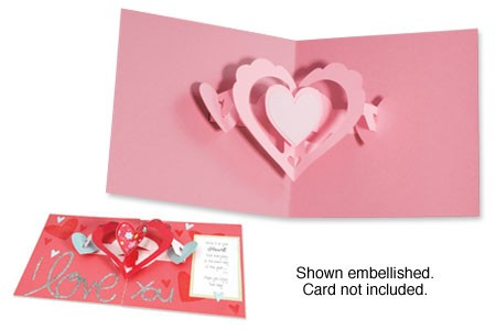 Sizzix Stanzform BIGZ XL Herz 3 - D Pop-Up / hearts-a-plenty 3-D 656773