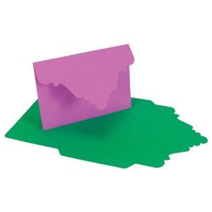 Schablone Vic. Briefumschlag/Vict. Envelope crease EV 402 ( ACC SJ 21 )