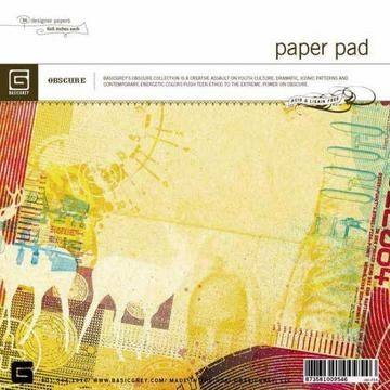 Paper Pad Obscure 15,2 cm x 15,2 cm OBS-954