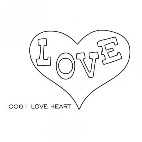 Savvystamps Stanzform Herz LOVE / Love Heart 10061