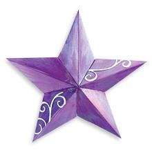 Sizzix Stanzform BIGZ Stern 5 Spitzen 3-D / star 5 point 3-D 655158