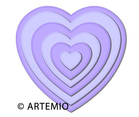 Artemio Happycut Stanz-u.Prägeformen Herzen 18043009