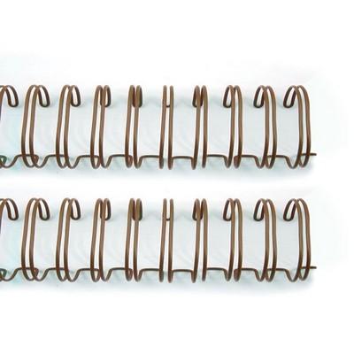 """Zutter Bind-It-All Binderinge ANTIQUE-BRASS 1 1/4 """" = 3,2 cm ( 4 Stück ) 7578"""