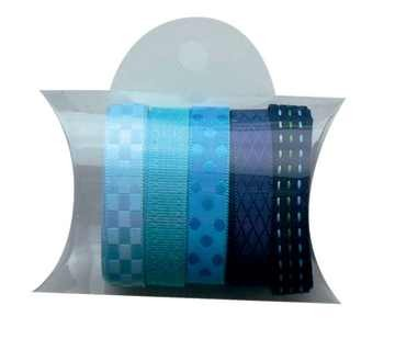 Marianne D Bänder-Sortiment BLAU JU0829 / ribbons blue