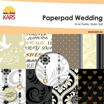 Paperpad WEDDING / Hochzeit 15,2 cm x 15,2 cm 001861/0002