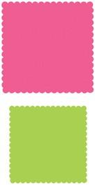 Quadrate gewellt / squares scalloped 0410