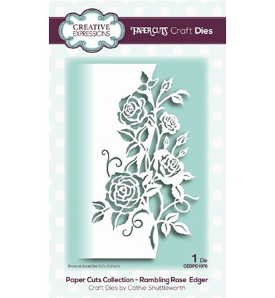 Creative Expressions Stanzform Rambling Rose Edger CEDPC1076
