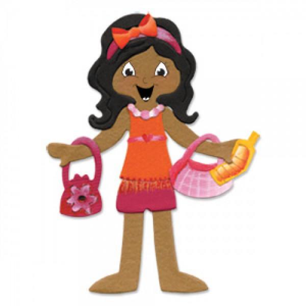 Sizzix Stanzform Originals LARGE Mädchen-Zubehör / Accessories Girl 655389