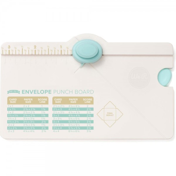WeR Memory Keepers Mini Envelope Punch Board 660541