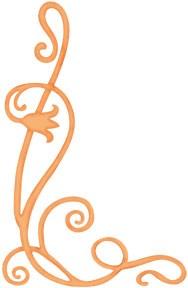 Blume Silhouette / flower silhouette 0365