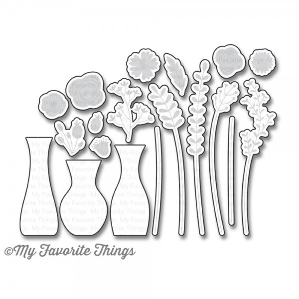 Dienamics Stanzform Blumen / Beautiful Blooms MFT-851