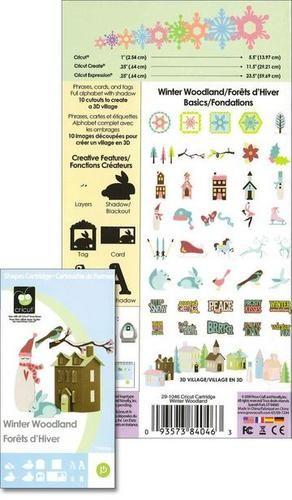 Cricut Cartridge Winter Woodland 29-1046