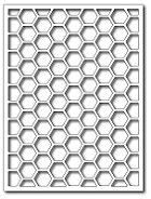 Frantic Stampers Stanzform Hexagon Card Panel FRA-DIE-09859