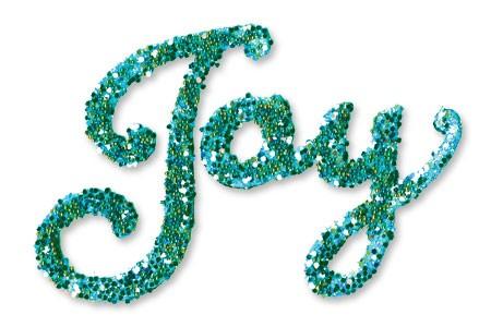 "Sizzix Stanzform Originals MEDIUM Wort "" Joy "" 6567277"