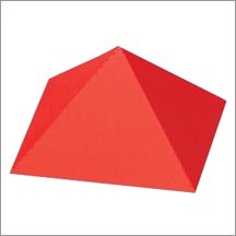"Allstar pyramide 3-D / pyramid square base 1 3/4 "" A 10350"