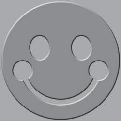 Crop-A-Dile-III Squeeze Prägeplatte Smiley 71040-0