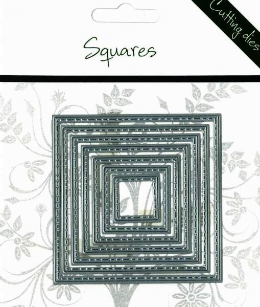 Romak Stanzform Quadrate mit Nähnaht / Squares 817315