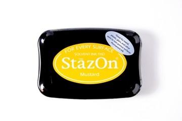 StazOn Stempelkissen dunkelgelb / mustard SZ-000-091 / TSSZ91