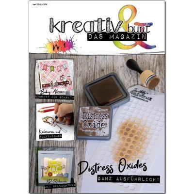 Kreativ & Bunt Das Magazin Ausgabe # 1 April 2019