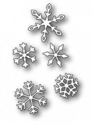 Poppystamps Stanzform Schneeflocken / Valley Snowflakes 1234