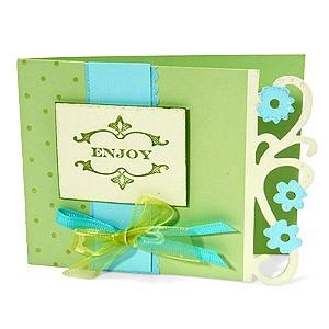 Sizzix Stanzform BIGZ XL Karte floral flourish / card floral flourish 655970