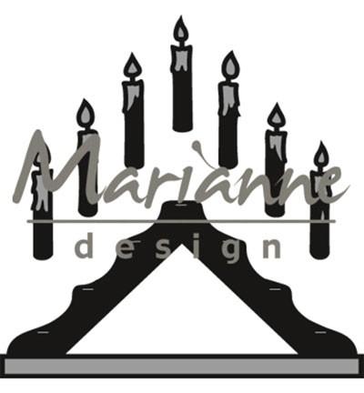 Marianne D Craftables Kerzen-Ständer / Candle Bridge CR1427