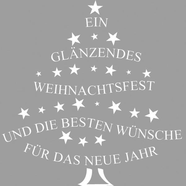 """Stempel""""glänzendes Weihnachtsfest""""Tannenbaum-Form 28-270-000"""