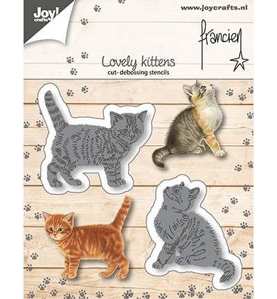 Joycrafts Stanzform Katzen / Lovely Kittens 6002/1362