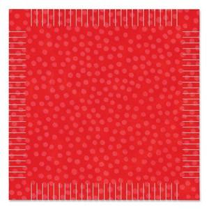 """Stanzform Go ! Quadrat mit Franzen 21,6 cm (= 8,5 """" ) 55013"""