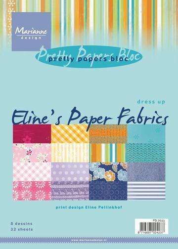 Papierblock Eline