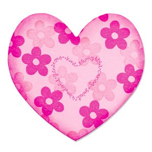 Sizzix Stanzform BIGZ Clear Herz / Heart 655767