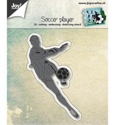 Joycrafts Stanzform Fußballspieler / Soccer Player 6002/0920