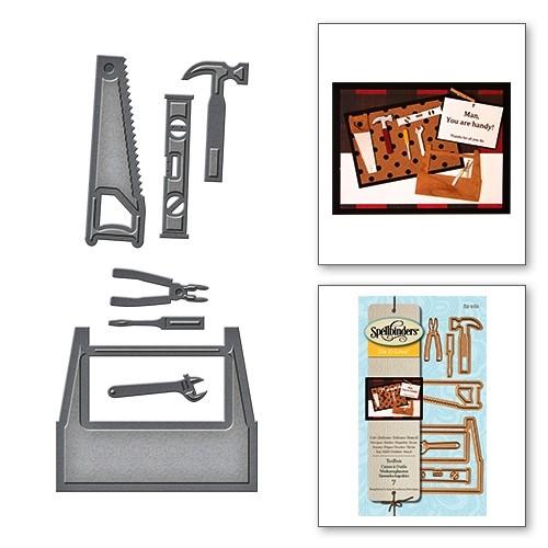 Spellbinders Stanz-u. Prägeform Werkzeugbox / Toolbox S3-262